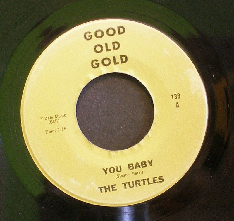 TURTLES~You Baby / Lonely and Blue~ Good Old Gold 133 45 VG+