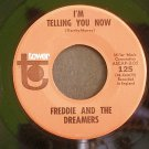 FREDDIE & THE DREAMERS~I'm Telling You Now / What Have I Done to You~ Tower 125 1964, 45