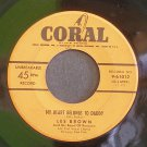 LES BROWN~My Heart Belongs to Daddy / From This Moment On~ Coral 9-61012 1953, 45