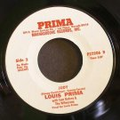 LOUIS PRIMA~I'm Leaving You / Judy~ Prima Magnagroove P22206 45 VG++