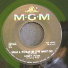 SANDY POSEY~What a Woman in Love Won't Do~ MGM K13702 1967, 45