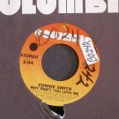 CONNIE SMITH~Why Don't You Love Me / Loving You ~ Columbia 3-10135 1974, 45