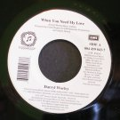 DARRYL WORLEY~When You Need My Love / Who's Gonna~ Dreamworks 004 459 043-7 2000, 45