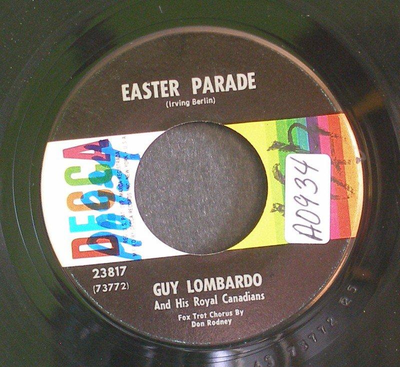 GUY LOMBARDO~Easter Parade / Always~ Decca 23817 45