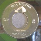HANK SNOW~I've Forgotten You / Let Me Go, Lover!~ RCA Victor 47-5960 1954, 45