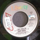 KENNY ROGERS~I Don't Need You / Without You in My Life~ Liberty 1415 1981, 45