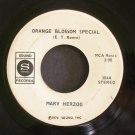 MARV HERZOG~Orange Blossom Special / Petite Waltz~ Sound 304 1974, 45