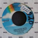 OAK RIDGE BOYS~Fancy Free / How Long Has it Been~ MCA MCA-51169 1981, 45