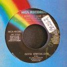OLIVIA NEWTON-JOHN~I Honestly Love You~ MCA MCA-40280 1974, 45