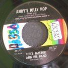 TONY JAMBOR~Andy's Jolly Hop / Westphalia Waltz ~ Decca 45175 45