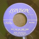 BOB SHARPLES~Oo-La-La, Oui-Oui! / Afrika~ London 45-1721 45