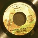 DAVID OLIVER~Housewives Are People Too / Take My Emptiness~ Mercury 74034 1978, 45 VG+ Rare
