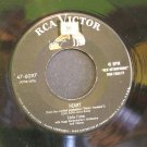 EDDIE FISHER~Heart / Near to You~ RCA Victor 47-6097 195?, 45
