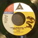 LULU~I Could Never Miss You / Dance~ Alfa ALF-7006 1979, 45
