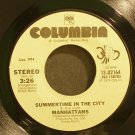 MANHATTANS~Summertime in the City / Shining Star~ Columbia 13-02164 45