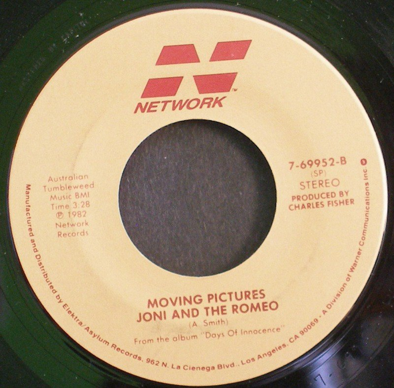 MOVING PICTURES~What About Me~ Network 7-69952 1982, 45