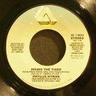 PHYLLIS HYMAN~Riding the Tiger~ Arista AS 1-9023 1983, 45