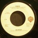PRINCE~Delirious / Horny Toad~ Warner Bros. 7-29503 1983, 45