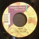 PRINCE~U Got the Look / Housequake~ Paisley Park 7-28289 1987, 45