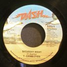 T-CONNECTION~Saturday Night~ Dash 5051 1979, 45