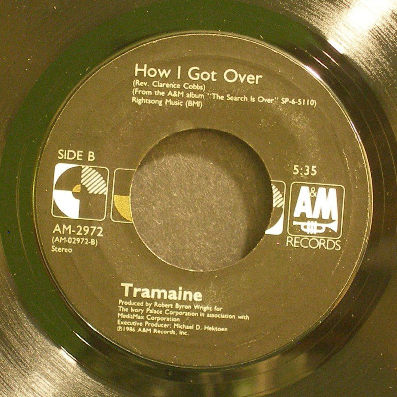 TRAMAINE~Freedom / How I Got Over~ A&M AM-2972 1987, 45