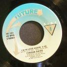 TYRONE DAVIS~I'm in Love Again / Serious Love~ Future FR 102 1987, 45