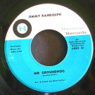 JIMMY RANDOLPH~Mr. Groundhog~Harmon 1005 (Northern Soul) Rare VG+ 45