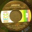 MURRAY HEAD~Superstar~Decca 32603 (OST) VG+ 45