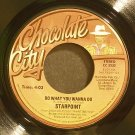 STARPOINT~Do What You Wanna Do~Chocolate City 3232 (Funk) VG+ 45