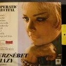 ERZSEBET HAZY~Operatic Recital~Qualiton 11410 SD M- Hungary LP