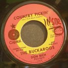 THE BUCKAROOS~Country Pickin'~Capitol 2810 Promo Rare 45