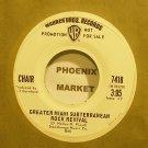 CHAIR~Greater Miami Subterranean Rock Revival~Warner Bros. 7418 (General Rock) Promo VG++ 45