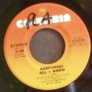 ART GARFUNKEL~All I Know~Columbia 45926 VG+ 45
