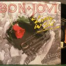 BON JOVI~Living in Sin~Mercury 070-7 (Arena Rock) VG+ 45