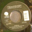CHER & PETER CETERA~After All~Geffen 27529 VG+ 45