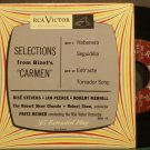 FRITZ REINER~Selections From Bizet's Carmen~RCA Victor 45 VG+ 45 EP