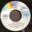 GENE WATSON~Drinkin' My Way Back Home~MCA 52309  45