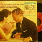 LES BROWN~I've Got My Love to Keep Me Warm~Columbia 2513 (Big Band Swing)  45 EP