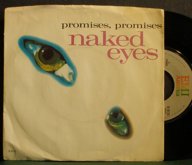 Naked Eyes Us Lp w Always Something There To Remind Me