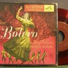 "SERGE KOUSSEVITZKY~Ravel: Bolero~RCA Victor 1220 Clear Red Mono VG+ 45 2X7"", Box Set"