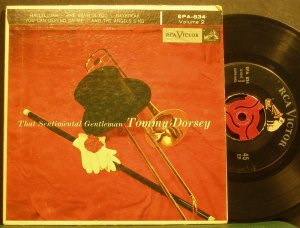 TOMMY DORSEY~That Sentimental Gentleman, Vol. 2~RCA Victor 834 (Big Band Swing)  45 EP