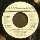 BROOK BENTON~Can't Take My Eyes Off of You~All Platinum 2364 (Soul) Promo M- 45