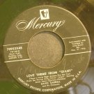 DAVID CARROLL~Love Theme From Giant~Mercury 70952 (OST)  45