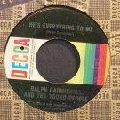 RALPH CARMICHAEL~He's Everything to Me~Decca 32188 Rare VG+ 45