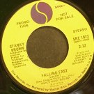 STANKY BROWN~Falling East~Sire 1023 (General Rock) Promo VG+ 45