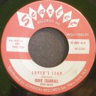 EDDIE CRANDALL~Lover's Leap~Scarlet 4001-45-V (Rock & Roll) Rare VG++ 45