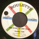VALERIE CARR~When the Boys Talk About the Girls~Roulette 4066 VG+ 45