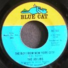 THE AD LIBS~The Boy From New York City~Blue Cat 102 (Smooth Soul)  45