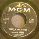 HERMAN'S HERMITS~There's a Kind of Hush~MGM K13681 (British Invasion)  45