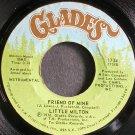 LITTLE MILTON~Friend of Mine~Glades 1734 (Funk)  45